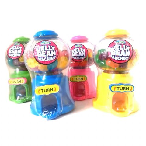 Mini Jelly Bean Machine - Fun Candy Sweets Dispenser (1 Supplied)